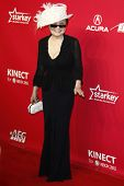 LOS ANGELES, CA - FEB 10: Yoko Ono at the 2012 MusiCares Person of the Year Tribute To Paul McCartne