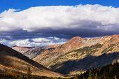 Mountain Landscape in Colorado Rocky Mountains, Colorado, United States. poster