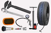 Tire repair tools