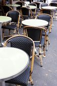 Restaurant On The Sidewalk