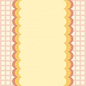 illustration of a yellow wallpaper