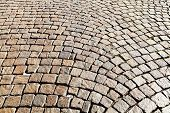 Medieval Cobble Stone Pavement