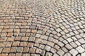 Medieval Cobble Stone Pavement