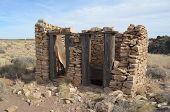 Old West latrine