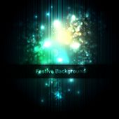 Festive background of glittering lights | Layered EPS10 Vector Background