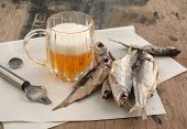 Beer And Dry Fish