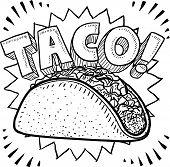 Taco sketch