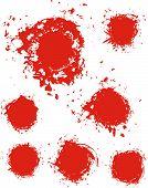 Grunge tinta mancha textura