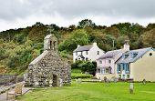 St. Brynach's Church and cottages, Cwm-yr-Eglwys