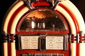 stock photo of jukebox  - jukebox close 4 macro - JPG