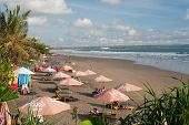 Bali- May 9: Located On The Western Side Of The Island's Narrow Isthmus, Kuta Beach Is Bali's Most F