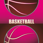 Basketball background. Vector illustration.