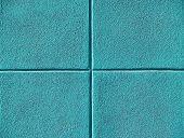 Four Teal Or Aqua Blue Squares