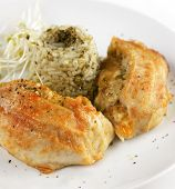 Stuffed Tilapia Fillet With Rice