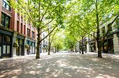 Occidental Square and Mall in Seattle