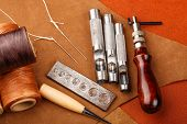 pic of leather tool  - Craft tool for leather accessories - JPG