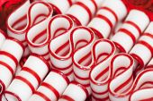 Old Fashioned Peppermint Christmas  Ribbon Candy