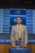 USTA Chairman, CEO and President Dave Haggerty at the 2013 US Open Draw Ceremony