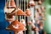 Leaf hat wind bell
