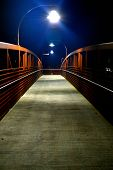 Walking Bridge at Night