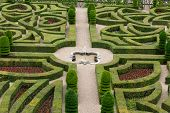 Splendid decorative gardens at castles in France