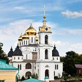 Assumption Cathedral Of Dmitrov Kremlin, Russia
