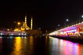 Galata Bridge And Eminonu District, Istanbul