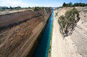 Canal de Corinto, na Grécia