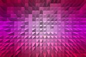 Abstract Background With Pyramid Extrude