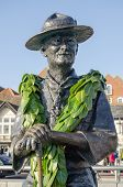 Lord Baden Powell statue, Poole