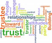 Trust Wordcloud