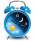 picture of blue-bell  - Alarm clock - JPG
