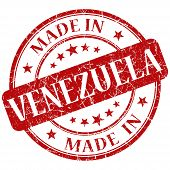 Made In Venezuela Stamp