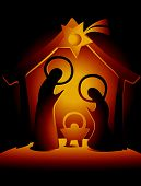 picture of holy family  - Christmas decoration with Holy Family - JPG