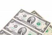 pic of two dollar bill  - Two - JPG