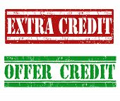 Extra Credit And Offer Credit Stamps