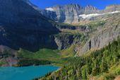 Grinnell Lake & Salamander Glacier