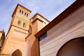 stock photo of mausoleum  - Aragon Teruel Los Amantes mausoleum in San Pedro Mudejar church Spain - JPG