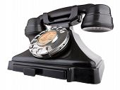 image of bakelite  - Old bakelite telephone - JPG