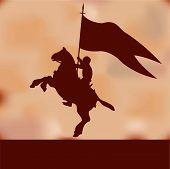 Fundo de banner Knight