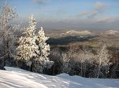 South Ural winter