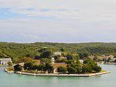 Small Island In Mahon On Minorca