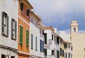 Street In Mahon On Minorca