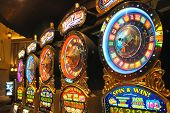 Slot Machines In New York-new York Hotel And Casino In Las Vegas