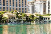 Fountain In Bellagio Hotel In Las Vegas