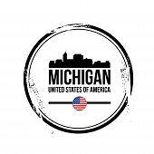 stamp Michigan