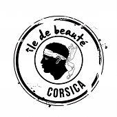 stamp Corsica