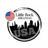 stamp Little Rock