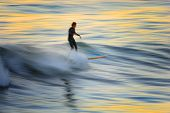 Sunset Surfer Bur 2