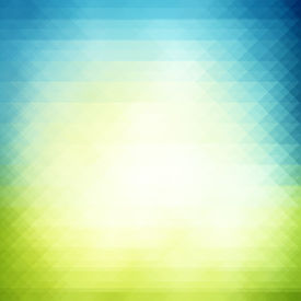 image of colorful banner  - Spring geometric modern background colorful mosaic banner retro pattern of geometric shapes Easter background - JPG